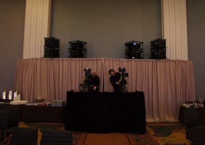 IMAG Cameras & Projection Towers